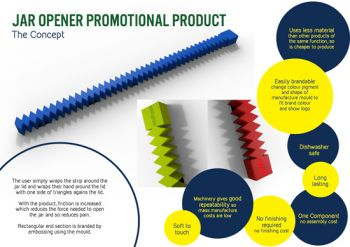 Jar Opener Promotional Product